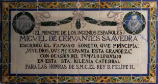 soneto a felipe II iglesia catedral de sevilla y cervantes-abogados en sevilla