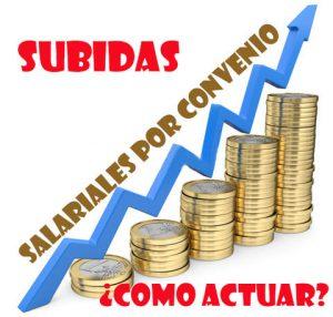 subidas salariales 2018 convenios colectivos