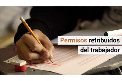 permisos retribuidos del trabajador