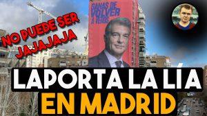 laporta y el anuncio frente al real madrid