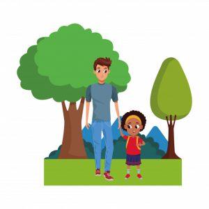 familia-monoparental-derecho al permiso de maternidad mas el de paternidad